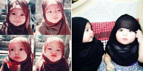 Jilbab Balita Lucu informasi aneh unik dan gokil 10 foto balita memakai
