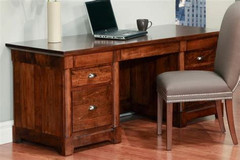 Hudson Valley 28 Quot X 68 Quot Executive Desk Contemporary Hudson Valley Office Furniture