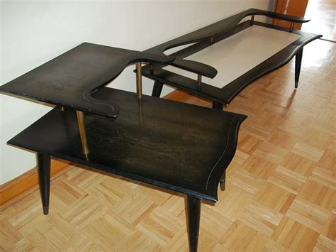 awesome mid century matching coffee and end table 100