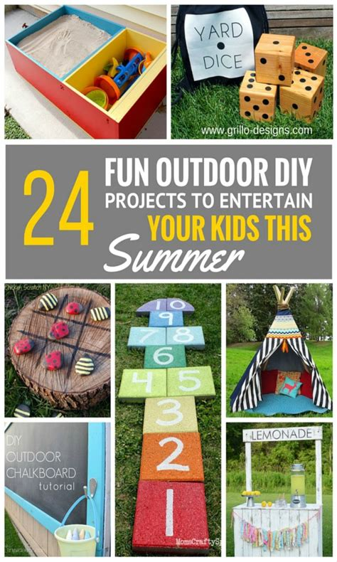 diy projects fun 24 outdoor diy projects that will keep your