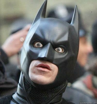 Surprised Face Meme - i believe in matt harvey surprised batman quickmeme