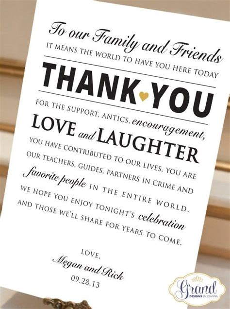 Wedding Quotes Thank You by Wedding Thank You Quotes Quotesgram