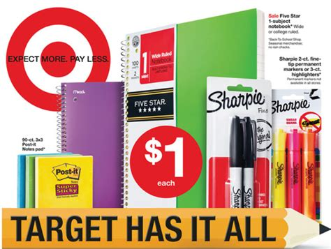 all thing target target back to school deals 8 5 8 11 all things target