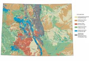 what is a geologic map colorado geological survey