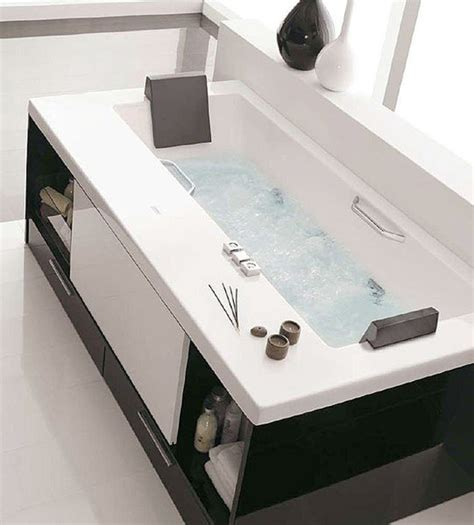 innovative bathroom furniture bathtub with drawers freshome com
