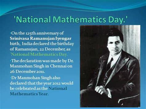 national mathematics day authorstream