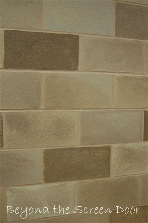 images  ideas  painting cinder block wall