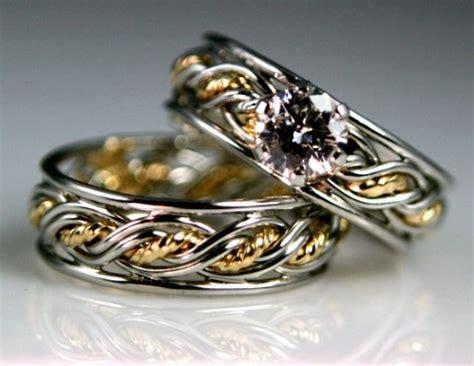 wedding rings for black ring