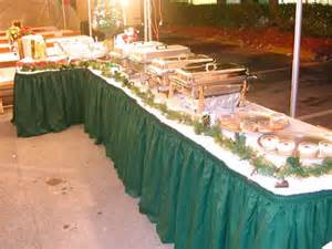 Buffet Table Pictures Evening Pictures