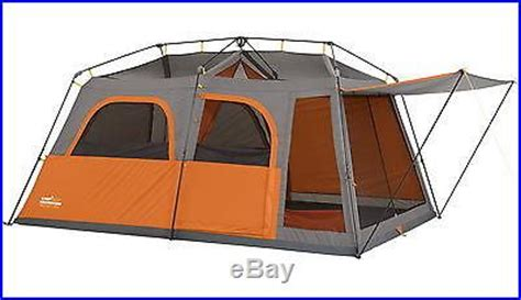 valley awning and tent new big cing tent 9 person 2 room 14 x 9 family