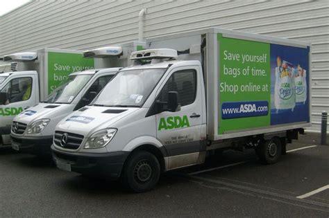 asda driver reveals photos inside filthy delivery van