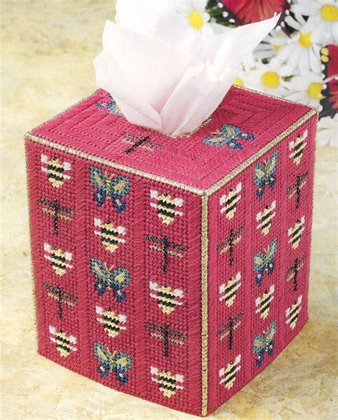 pattern for small kleenex holder plastic canvas tissue holder patterns bug tissue box