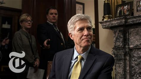 neil gorsuch new york times neil gorsuch confirmation hearings the new york times