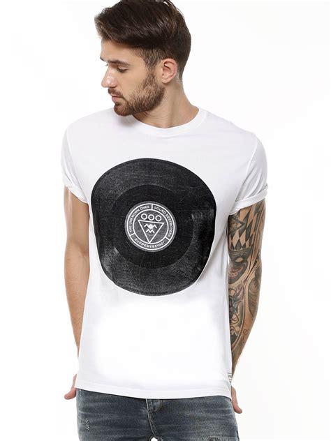 printable vinyl t shirt buy supremebeing vinyl print t shirt for men men s white