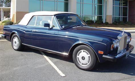 rolls royce corniche ii 1987 rolls royce corniche ii convertible 23298