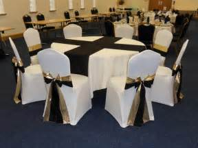 white chair covers with white sash exle of duo sashes beau events chair covers specialist