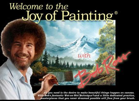 bob ross painting tv the of the of painting with bob ross
