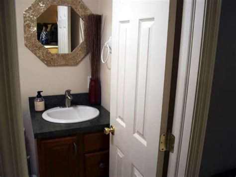 converting powder room to bath half bath cabinets ideas ikea bathroom vanities tiny