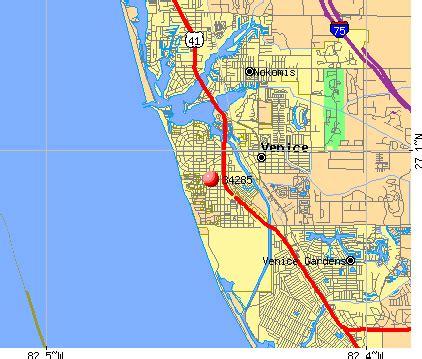 zip code map venice fl 34285 zip code venice florida profile homes