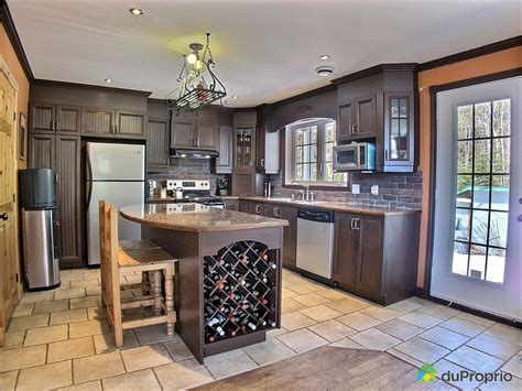 Acheter Une Cuisine 2390 by Maison 224 Vendre St Calixte 2390 4e Rang Immobilier