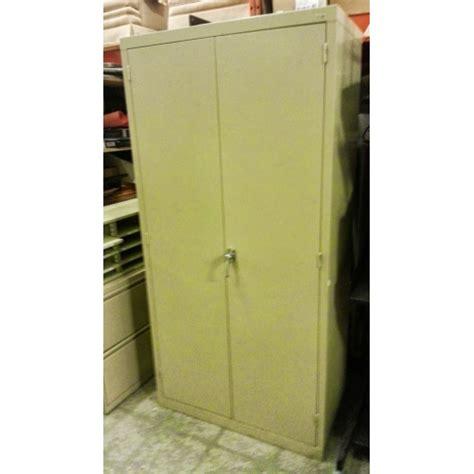 Two Door Metal Storage Cabinet Cole 2 Door Storage Metal Cabinet Allsold Ca Buy Sell Used Office Furniture Calgary