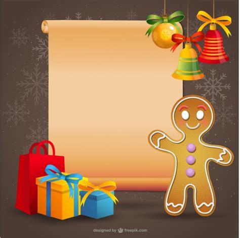 imagenes de navidad galletas de jengibre plantilla de navidad con galleta de jengibre descargar
