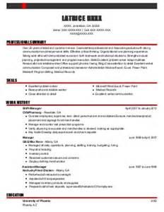 Patient Service Associate Sle Resume by Patient Service Associate Resume Exle Arlington High School Arlington