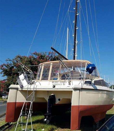 prout quest catamaran for sale 1986 prout quest 33cs sail boat for sale www yachtworld