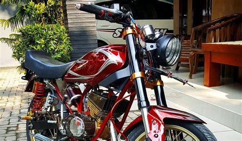 Stikcer Motor Yamaha Rx King 96 Merah 96 modifikasi motor rx king warna merah terupdate kuroko motor
