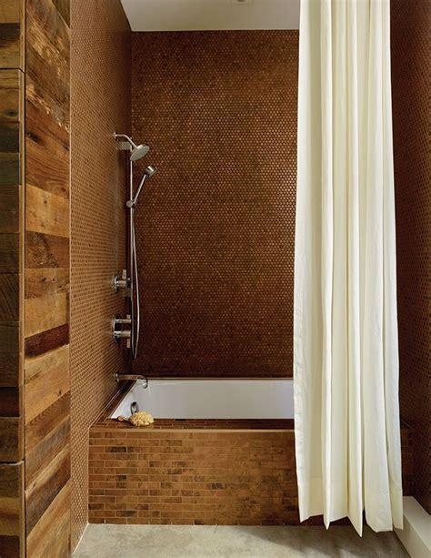 copper tiles bathroom 89 best metallic inspirations images on pinterest