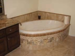 Corner Tub Ideas Bathroom Bathroom Corner Tub Tile Flooring Ideas