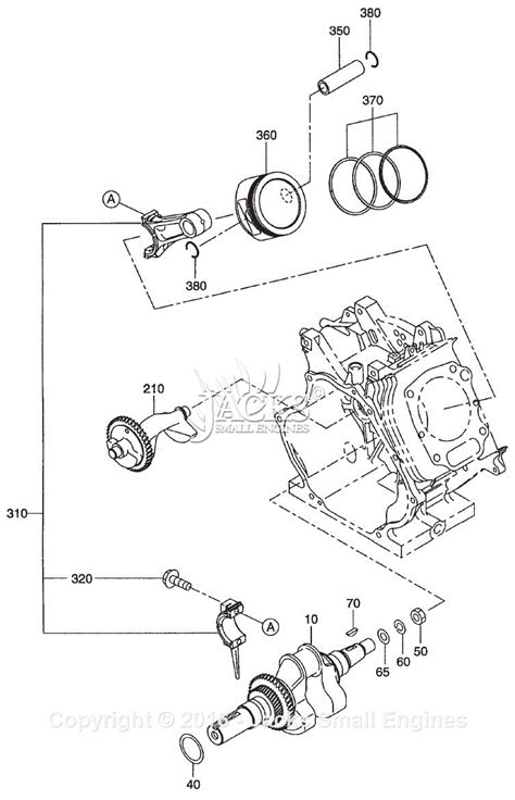 Robin Subaru Eh36 Parts Diagram For Crankshaft
