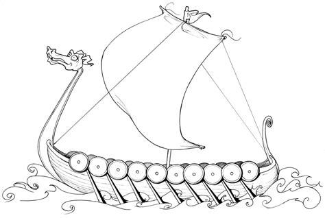 viking ship template sch 246 ne malvorlagen ausmalbilder wikingerschiff ausdrucken 1