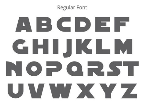 printable star wars fonts star wars wood letter decorate with star wars wall