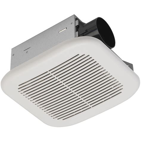 utilitech bathroom fan with light shop utilitech 2 sone 70 cfm white bathroom fan energy