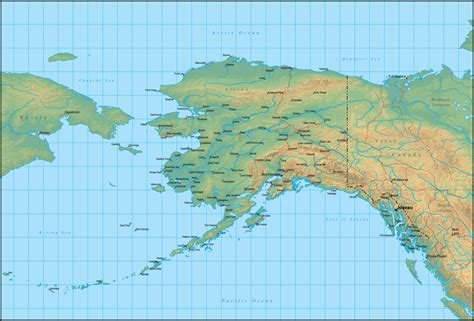 Search In Alaska Map Of Alaska Search Engine At Search