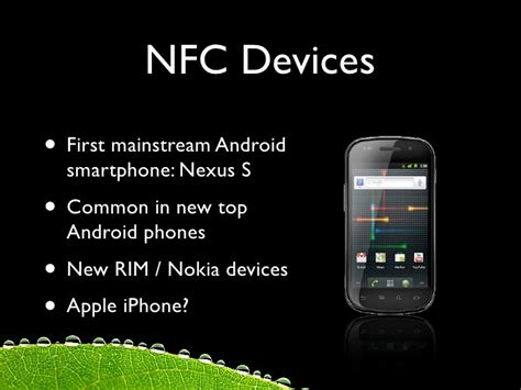 nfc on android nfc on android near field communication