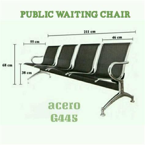 Kursi Tunggu Besi 4 Seat jual kursi tunggu bandara 4 seat suwandasport