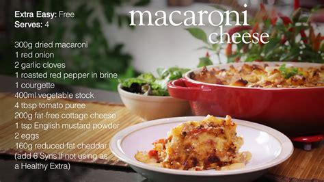 Easy Macaroni Cheese by Slimming World Macaroni Cheese Recipe Youtube