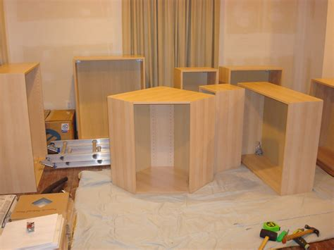 how to build a kitchen island with cabinets 1800 s house renovations building the ikea cabinets