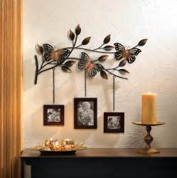 metal butterfly frames wall decor