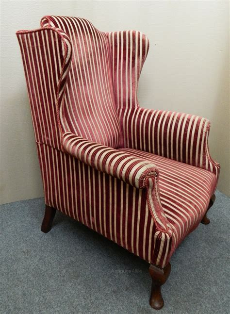 wing back armchairs wing back armchair antiques atlas