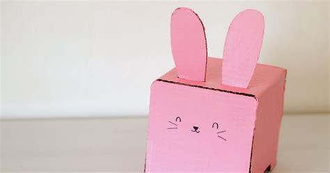 mod mat k ears make a cardboard bunny tissue box holder pink stripey socks
