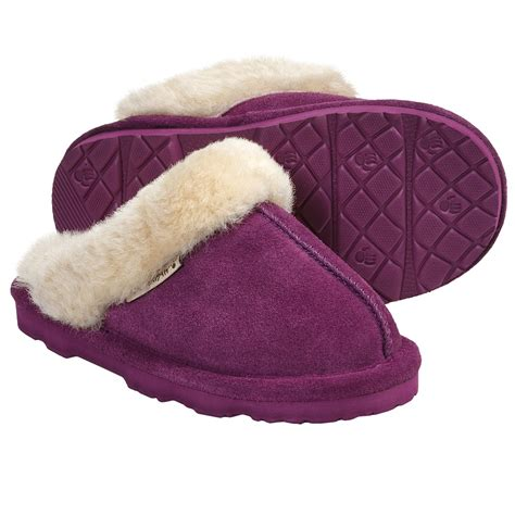 kid house shoes bearpaw loki ii slippers suede sheepskin lining for kids and youth save 35