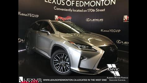 lexus atomic silver rx 350 2017 atomic silver lexus rx 350 awd f sport series 2 in