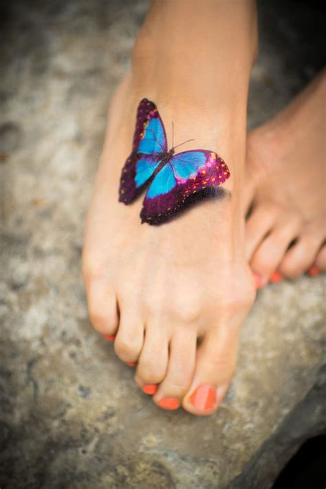 realistic butterfly tattoo butterfly temporary 3d realistic by