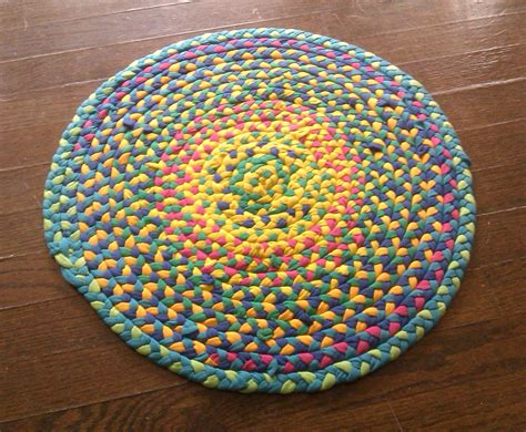 t shirt rugs make a braided t shirt rug 3