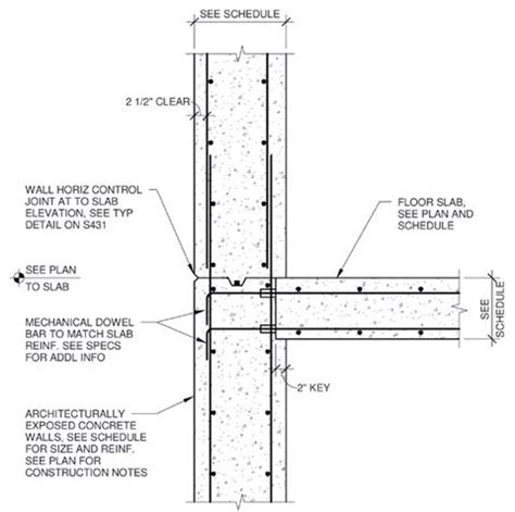 cast in place concrete wall section concrete walls art and google on pinterest