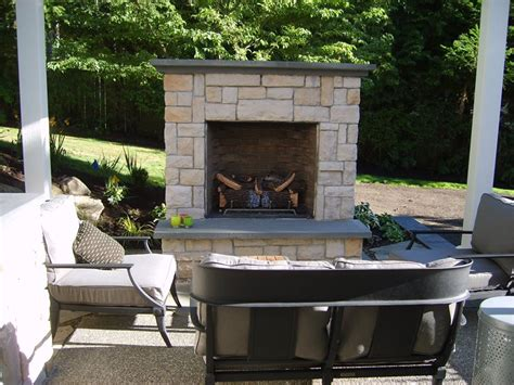small backyard fireplace outdoor fireplace kirkland wa photo gallery