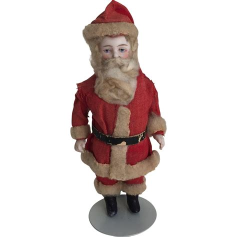 bisque jointed doll german antique all bisque jointed santa doll from widows
